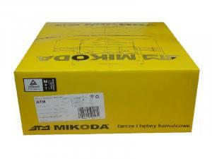9002 MIKODA - BĘBEN HAM. 180,0 X 39,5MM AUDI VW POLO DERBY GOLF