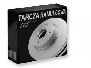 1411 MIKODA - TARCZA HAMULCOWA TARCZE HAM. 284,0 X 22MMMERCRDES W-124 - WENT. PRZÓD  CROSS