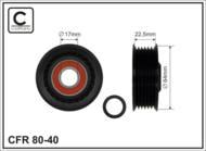 80-40 CAFFARO - ROLKA 64X22,5X17 PLASTIK                   3/C/6