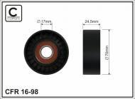 16-98 CAFFARO - ROLKA 70X24.5X17 PLASTIK             EVR 55940