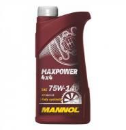 MANNOL 75W140 1L - OLEJ PRZEKŁADNIOWY MAX-POWER 4X4