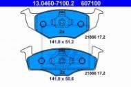 13.0460-7100.2 ATE - KLOCKI HAM. VW POLO 96-01