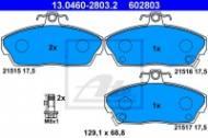 13.0460-2803.2 ATE - KLOCKI HAM. ROVER 200-400 89-00 (+ABS) Z CZUJ.