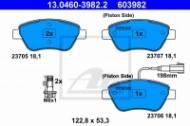 13.0460-3982.2 ATE - KLOCKI HAM. FIAT STILO 1,2-1,6 01-08 Z CZUJ.