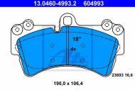 13.0460-4993.2 ATE - KLOCKI HAM. VW TOUAREG 02-