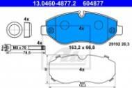 13.0460-4877.2 ATE - KLOCKI HAM. CRAFTER 06-, TRANSPORTER BM 906 SPRINTER 06-, VI