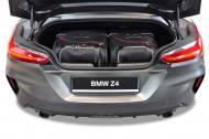 7007075 - TORBY SAMOCHODOWE BMW Z4 2018+ TORBY DO BAGAŻNIKA 4 SZT