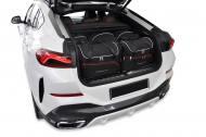 7007085 - TORBY SAMOCHODOWE BMW X6 2019+ TORBY DO BAGAŻNIKA 5 SZT