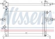 630051 NISSENS - Chłodnica OPEL ASTRA G 1,2 98-