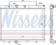 636007 NISS - Chłodnica PEUGEOT 207 1.6HDI 06- manual. /NISSENS/