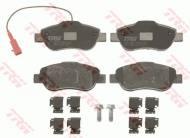 GDB1746 TRW - KLOCKI HAMULCOWE Klocki ham.FIAT FIORINO 1.3D 08-,500 07-przód /sys.BOSCH//T