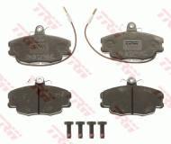 GDB807 TRW - KLOCKI HAMULCOWE Klocki ham.PEUGEOT,RENAULT przód /TRW/ CLIO 98-