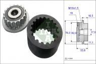 535 0186 10 - Rolka alternatora VW MULTIVAN T5 (7HM, 7 Rolka alternatora VW MULTIVAN T5 (7HM, 7 HN, 7HF, 7EF, 7EM,