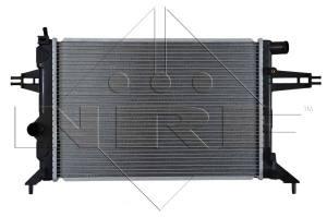 53628 NRF - CHŁODNICA Chłodnica OPEL ASTRA G 99->1.4 16V -1.8 16V /NRF/(- klima.)