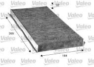 715507 VALEO - Filtr kabiny DB A-KLASA (W169) 04- /VALEO/ z węglem aktywnym