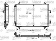 817824 VALEO - Chłodnica klimy CITROEN C5 04- PEUGEOT 407 04- /VALEO/