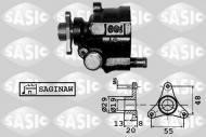 7074001 SASIC - Pompa wspomagania OPEL MOVANO 1.9-3.0 00- /SASIC/