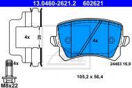 13.0460-2621.2 ATE - KLOCKI HAMULC. SKODA OCTAVIA III  13- TY