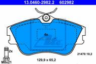 13.0460-2982.2 ATE - KLOCKI HAMULC. VW T4 90-