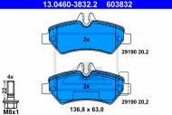 13.0460-3832.2 ATE - KLOCKI HAMULC. VW CRAFTER  06- TYŁ