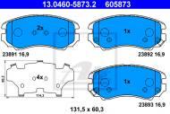 13.0460-5873.2 ATE - KLOCKI HAM. KIA SPORTAGE 04-