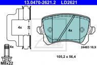 13.0470-2621.2 ATE - KLOCKI HAMULC. SKODA OCTAVIA III  13- TY