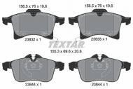 2383201 TXR - KLOCKI HAMULCOWE Klocki ham.OPEL ASTRA H 1.7 CDTI 04- /TEXTAR/