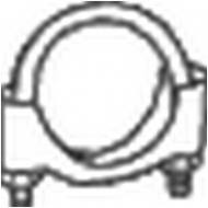 250-250 BOSAL - Obejma tłumika VW GOLF II 1.8 89-91 50mm/ /BOSAL/
