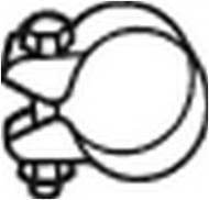250-354 BOSAL - Obejma