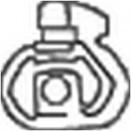255-026 BOSAL - Wieszak tłumika RENAULT R19 88-96 /BOSAL/