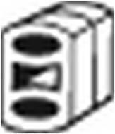 255-095 BOSAL - Wieszak tłumika OPEL ASTRA G 98-00 /BOSAL/