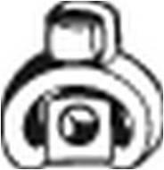 255-394 BOSAL - Wieszak tłumika RENAULT KANGOO 97- /BOSAL/