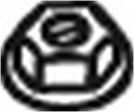 258-047 BOSAL - Nakrętka ukł.wyd.DAIHATSU CHARADE 87-95 M 10X1.25 Z KOŁNIERZ