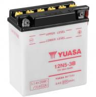 12N5-3B YUASA - AKUMULATOR 5AH/39 12V P+ / YUASA MOTOCYKLE