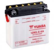 12N5.5-4A YUASA - AKUMULATOR 5,5AH/60 12V L+ / YUASA MOTOCYKLE