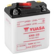 6N6-3B YUASA - AKUMULATOR 6AH/6V P+ / YUASA MOTOCYKLE