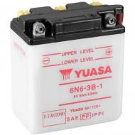 6N6-3B-1 YUASA - AKUMULATOR 6AH/6V P+ / YUASA MOTOCYKLE