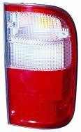 212-19B4L-AE ABAK - Lampa tylna TOYOTA HILUX - 98-02 lewa, czerwona, z wiązką /