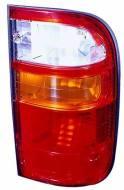212-19F3L-A ABAK - Lampa tylna TOYOTA HILUX - 01-03 lewa, czerwona, żółty kier