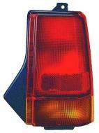 222-1901L-U ABAK - Lampa tylna DAEWOO TICO - 91-01 lewa, zewnętrzna, żółty kie
