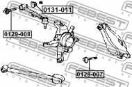 0131-011 FEBEST - NAKRĘTKA Z MIMOŚRODEM TOYOTA CROWN/CROWN MAJESTA GS171,JKS17