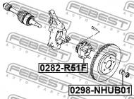 0298-NHUB01 FEBEST - NAKRĘTKA 32X23.5 INFINITI FX45/35 S50 2002.11-2008.03