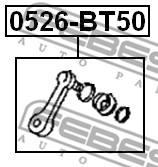 0526-BT50 FEBEST - RAMIĘ PRZEKŁADNI RANGER