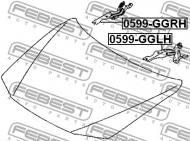 0599-GGLH FEBEST - MOCOWANIE-ZAWIAS MASKI LEWE MAZDA 6 WAGON GY 2002-2005 EU