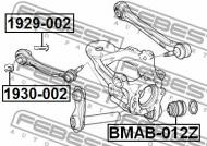 1929-002 FEBEST - ŚRUBA Z MIMOŚRODEM BMW X5 E70 2006-2013 ECE