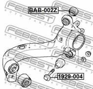 1929-004 FEBEST - ŚRUBA Z MIMOŚRODEM BMW X3 E83 2003-2006 ECE