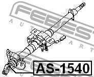 AS-1540 FEBEST - KRZYŻAK KOLUMNY KIEROWNICZEJ NISSAN ALMERA UK MAKE N16E 2000