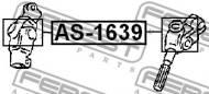 AS-1639 FEBEST - KRZYŻAK KOLUMNY KIEROWNICZEJ TOYOTA CRESTA GX90,JZX9,LX90,SX