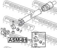 ASM-81 FEBEST - KRZYŻAK WAŁU NAPĘDOWEGO MITSUBISHI CHALLENGER K90 1996.05-20