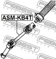 ASM-KB4T FEBEST - WAŁ NAPĘDOWY DOLNY MITSUBISHI PAJERO/MONTERO SPORT KH0 2008.